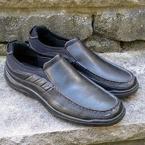 Clark's Black Slip On Loafers Shoes Men's Size 11